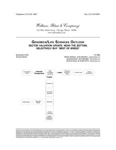 genomics-outlook